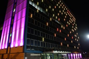 Lighting Installations | International House | Light Lab