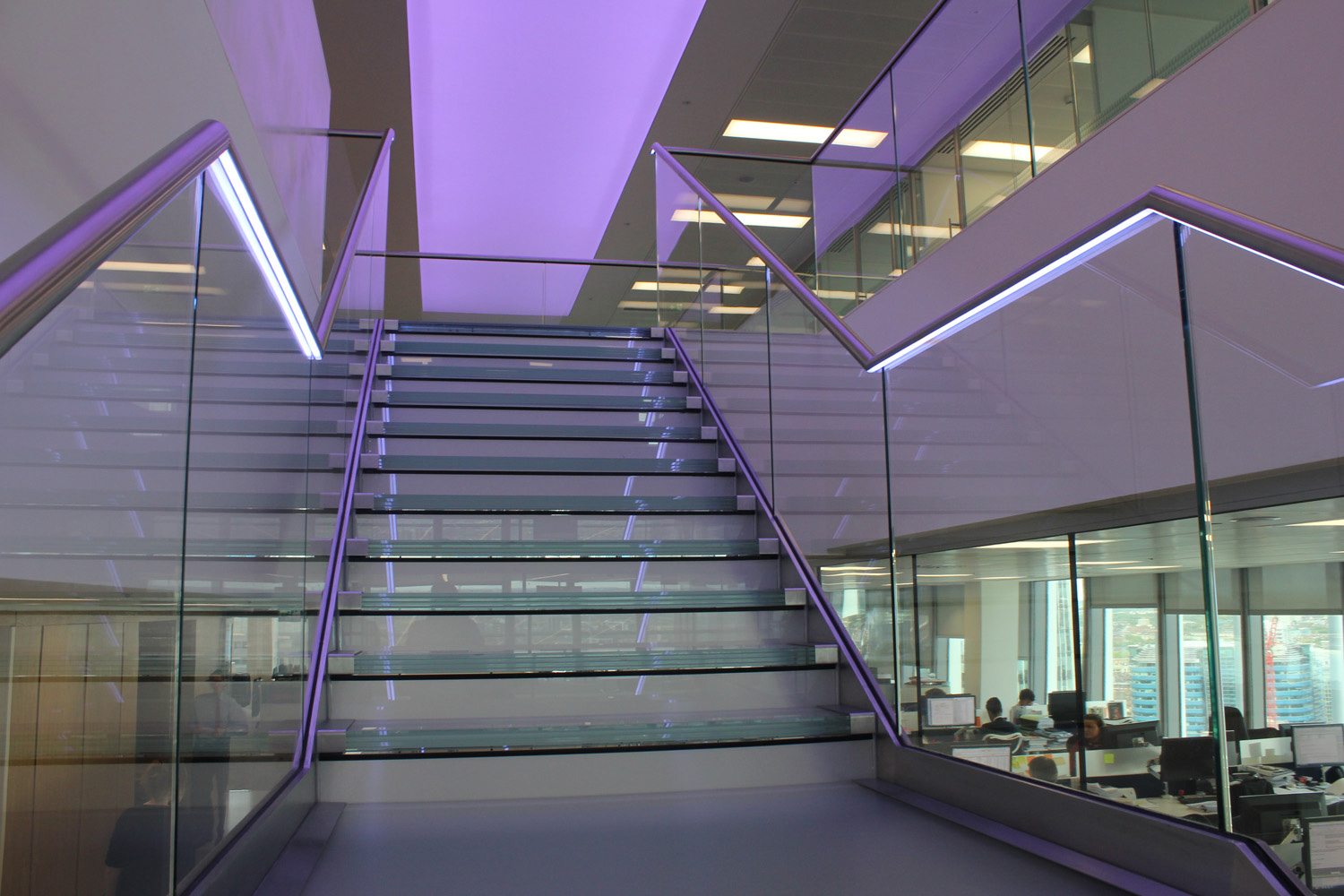 Lighting Installations | Liberty Specialist Markets | Glowrail | Light Lab