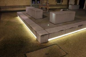 Lighting Installations | Sun Court, London | Light Lab