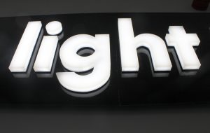 bespoke glowform LED lettering | specialist lighting design | The Light Lab