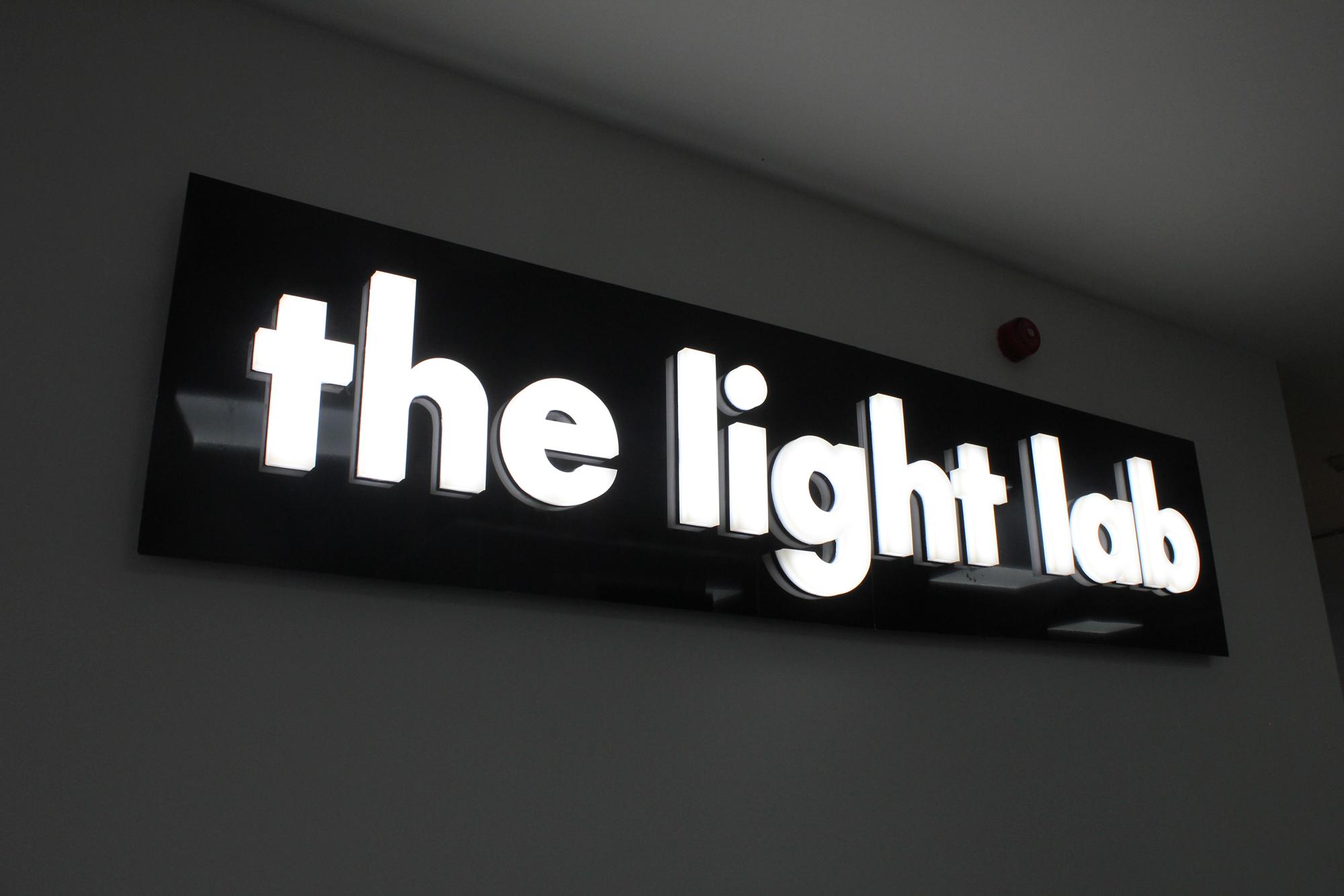 bespoke glowform LED lettering   specialist lighting design   The Light Lab