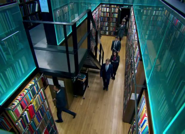 London Library Spectraglass in The Apprentice UK