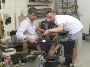 marcus glass blowing 1