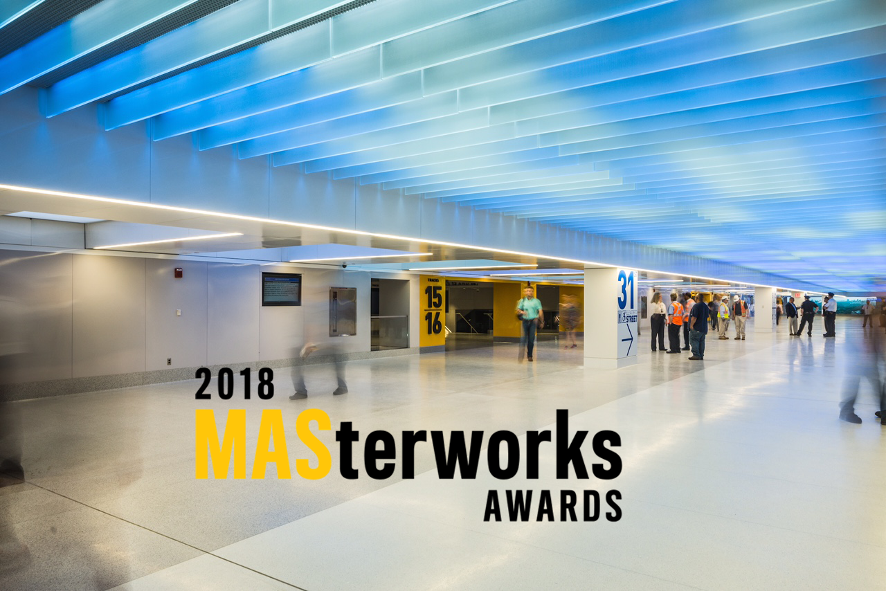 MASterworks awards Penn station The Light Lab
