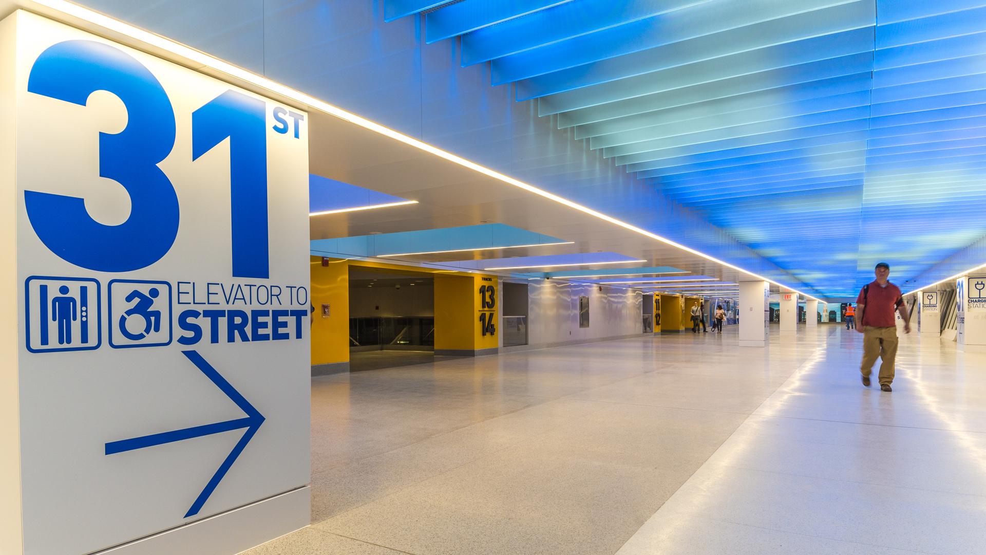 Penn Station New York City | Bespoke lighting manufacture | The Light Lab