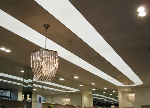 Retail Lighting-Anya Hindmarch, London