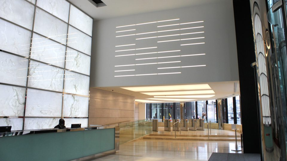 Specialist Lighting | 199 Bishopsgate | Light Lab
