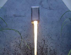 Specialist lighting   BBC small garden   Light Lab