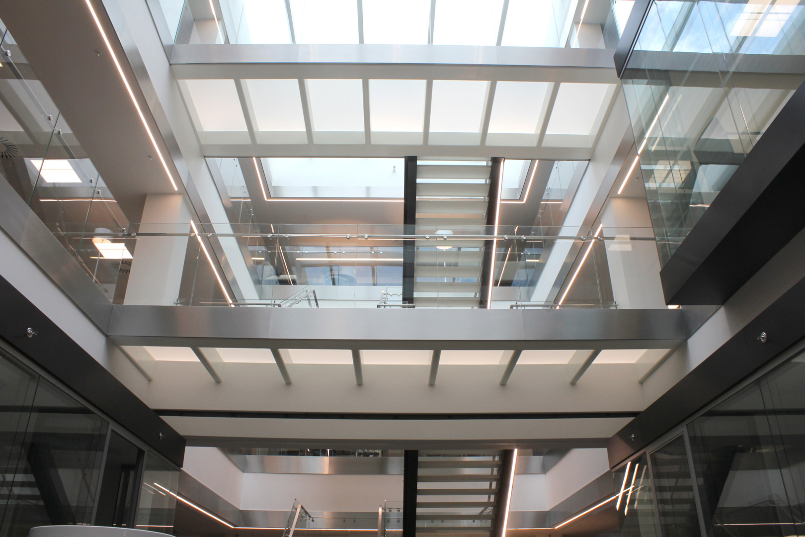 Specialist lighting | Commercial office, London | Light Lab