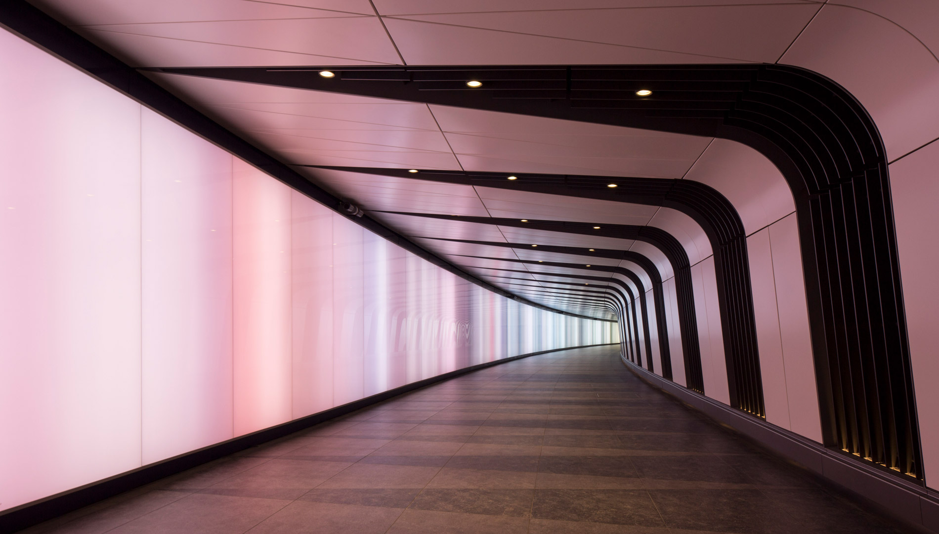 specialist lighting kings cross tunnel london lightlab 2