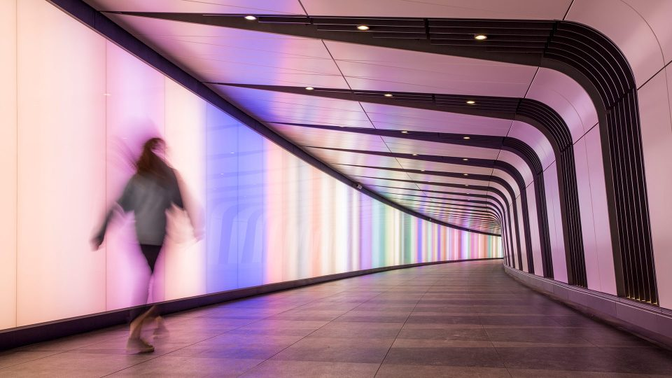 specialist lighting kings cross tunnel london lightlab full 1