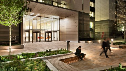 Thomas More Square | Exterior lighting | The Light Lab